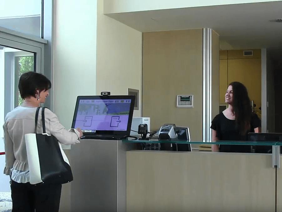 Software gestione visitatori in azienda: Check-ing
